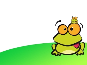 """Big Frog to Small Frog: """"DON'T BE SILLY, SILLY!"""""""