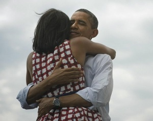 Four more years - Barack and Michelle Obama