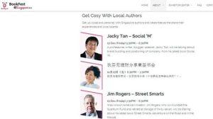 Jacky Tan Singapore Bookfest 2013